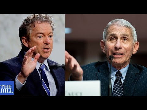 Rand Paul and Dr. Fauci CLASH at Senate hearing on the Coronavirus
