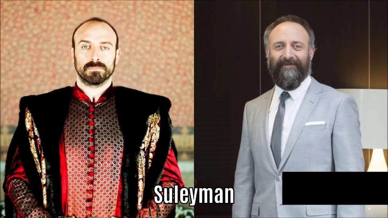 ممثلين مسلسل حريم السلطان اثناء التمثيل والان Youtube