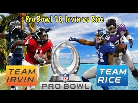 Pro Bowl 2016, Team Irvin vs Team Rice! Sunday Fun Day