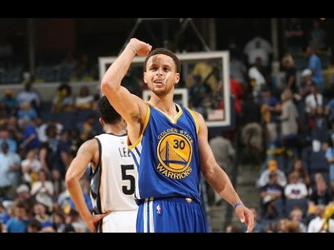 Stephen Curry's 62-ft 3 pointer v Grizzlies