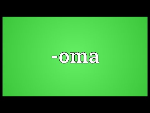 oma Meaning - YouTube