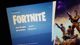 Fortnite can't select anything glitch (READ DESCRIPTION)
