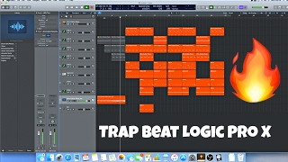 Trap Beat in Logic Pro X