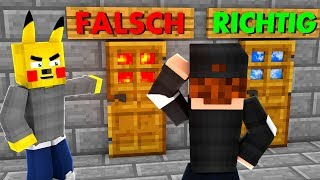 FALSCHE SEITE FALLE MINECRAFT TRAP KING #36