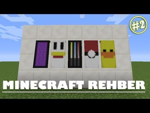 Minecraft Desenli FlamaBanner Nasıl Yapılır ? 2