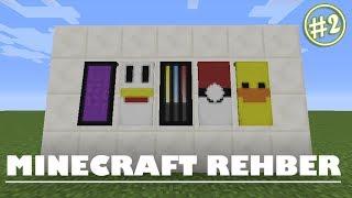 Baixar Minecraft Desenli Flama|Banner Nasıl Yapılır ? #2