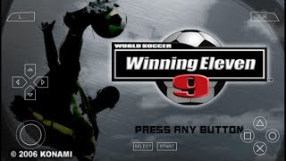 Game Android Offline World Soccer Winning Eleven 9 (PPSSPP) Link + Cara Install