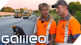 3 Tage Selbstexperiment: So hart ist der Job eines Bauarbeiters | Galileo | ProSieben