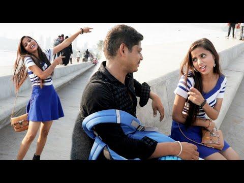 Annu Singh First Vlog | Prank Live on Camera | Prank On Cute Girl Mumbai | Vlog Prank Video Brb-dop