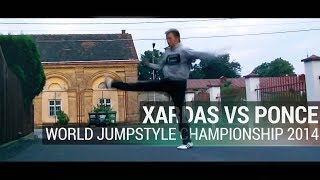 WORLD JUMPSTYLE CHAMPIONSHIP 2014 | 1/16 | Vision(Xardas) vs poNce | jumpstylers.ru