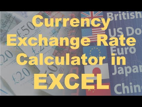 Automatic Currency Exchange Rate Calculator In Excel