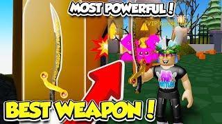 KAUFEN SIE DAS BESTE POSSIBLE SWORD IN UNBOXING SIMULATOR!! *SO OVERPOWERED* (Roblox)