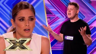 16-YEAR-OLD Michael Rice sings Whitney Houston in JAW-DROPPING audition! | The X Factor UK