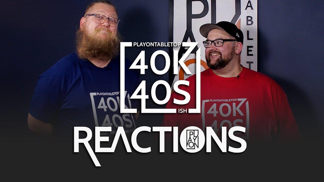 40k in 40 Seconds Warhammer 40k Reactions