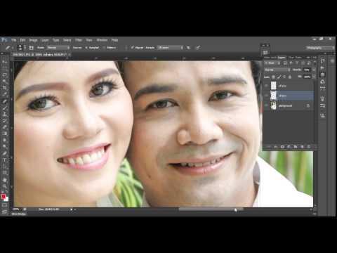 """Amazing Photoshop Trick & Tips : """"เคล็ดลับ การแต่งภาพ คู่บ่าวสาวให้เนียนสวยเป้นธรรมชาติ"""""""