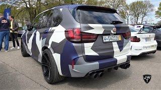 INSANE 700HP BMW X5 M Manhart MHX5! Revs & Acceleration SOUNDS!