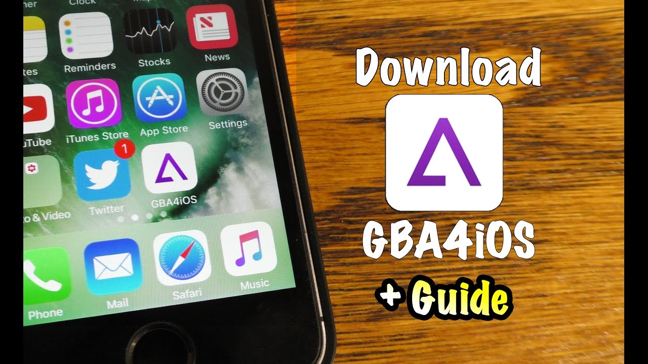 Install GBA4iOS Emulator To Run GBA Games on iPhone / iOS (2019)