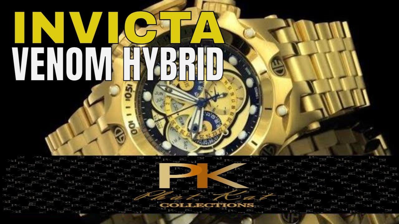 Invicta Watches Review Invicta Venom Hybrid Watch Review