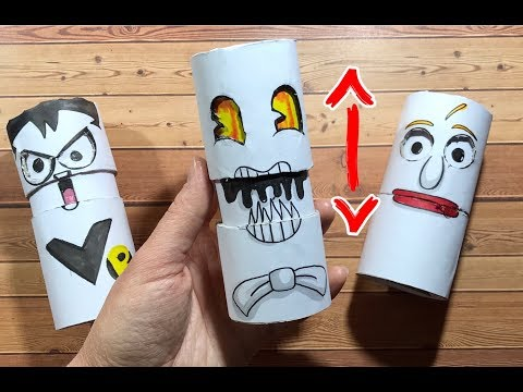 Funny Things You Should Try To Do At Home  PAPER CRAFTS FOR FAMILY AND FUN