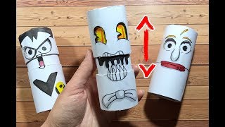 Funny Things You Should Try To Do At Home |PAPER CRAFTS FOR FAMILY AND FUN