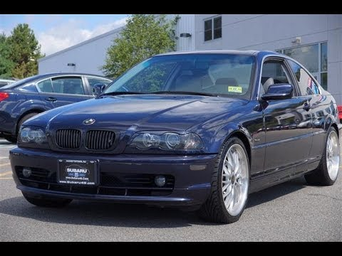 2002 BMW 3Series 325Ci Coupe  YouTube