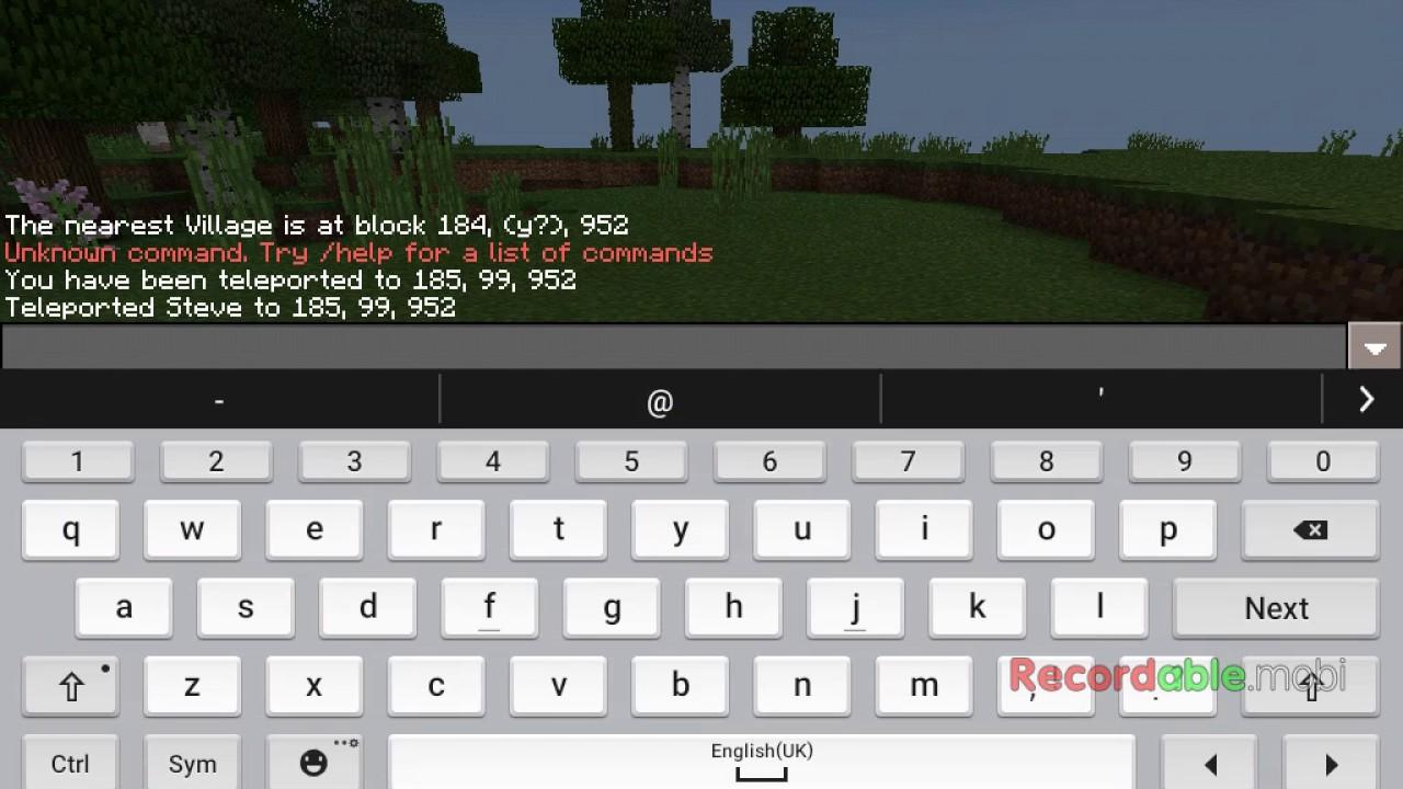 How To Teleport To Nearest Village YouTube - Minecraft spieler zum spawn teleportieren