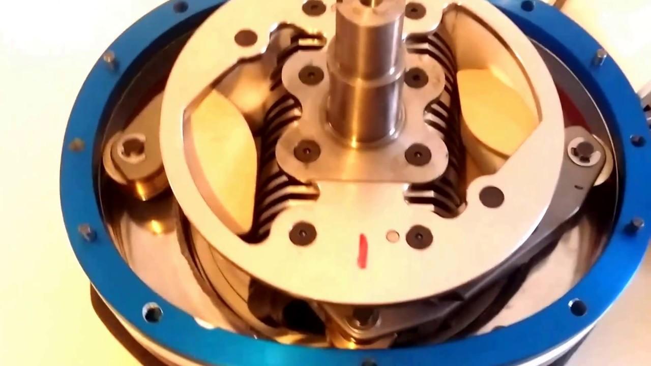 Hybrid Piston Rotary Engine