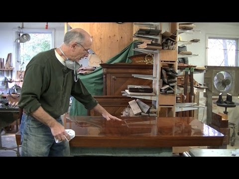 repairing-veneer-on-a-midcentury-tabletop---thomas-johnson-antique-furniture-restoration