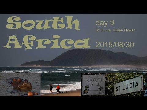 South Africa - St. Lucia - say Hello to crocodiles and hippos | Vlog