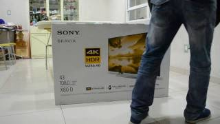 Unboxing y review Sony Bravia TV 4K X800D Año Nuevo!