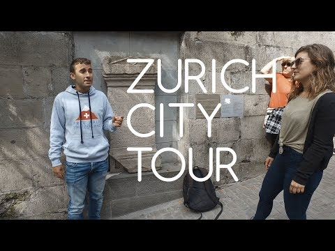 Zurich city tour in 4K