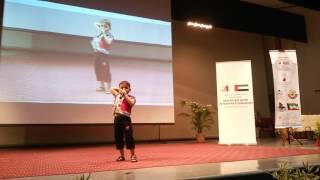 أحمد ياسين الجزائري يلقي قصيدة جحد الحقائق