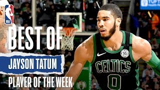 <b>Jayson Tatum</b> | Eastern Conference Player Of The Week