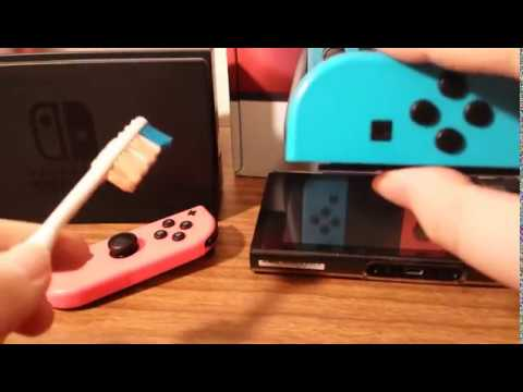 Nintendo Switch cleaning/wandering issue quick fix