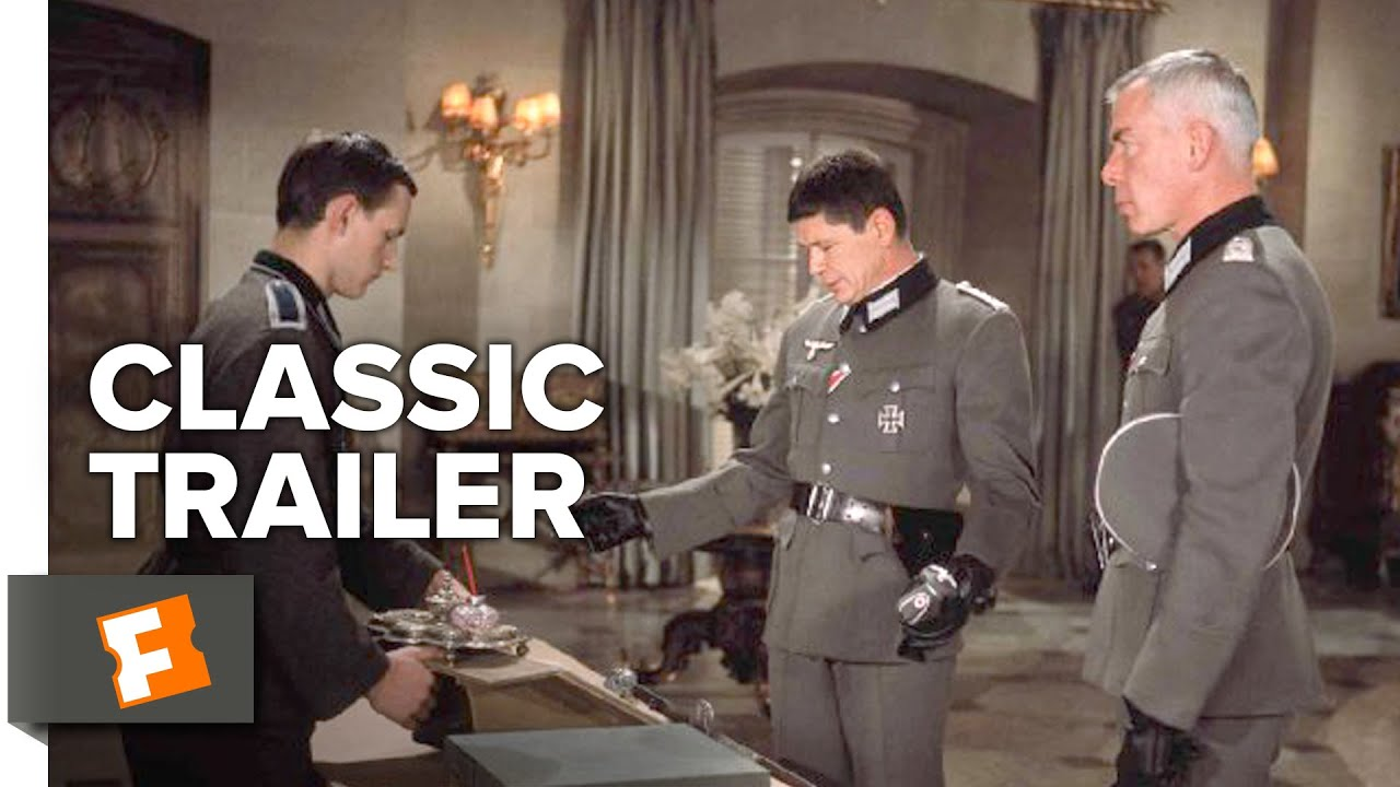 Dirty Dozen (1967) Official Trailer - Lee Marvin, John Cassavetes World War 2 Movie HD