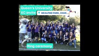 QUEEN'S XC INVITATIONAL 2018 // RING CEREMONY // LUDY BOWL