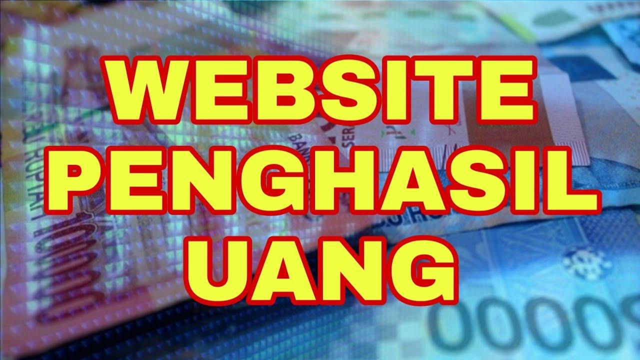 WEBSITE PENGHASIL UANG - MUDAH DAN CEPAT - YouTube