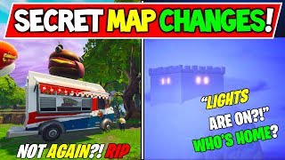 "LA CARTE SECRÈTE FORTNITE ' NEW' CHANGE ! ""THE LIGHTS GO ON!"" - Saison 7 ICEBERG - Durr Burger Annule la guerre?"