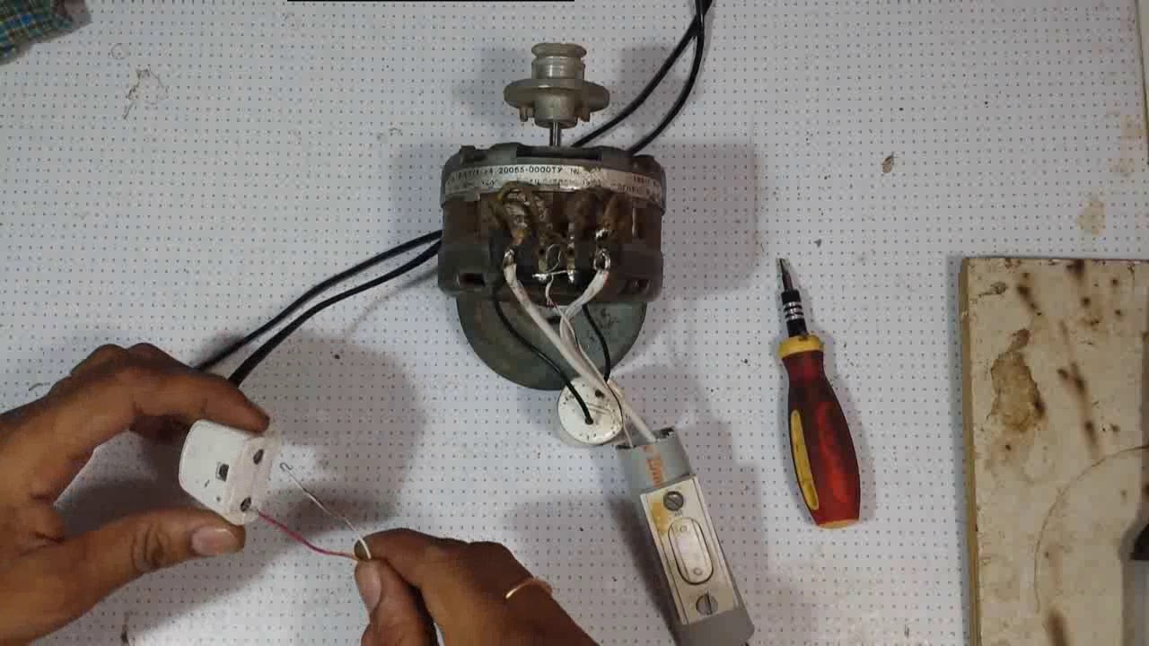 how to connect forward and reverse rotation switch to an ac condenser motor [ 1280 x 720 Pixel ]