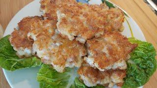 Рубленые котлеты из куриного филе. Навсегда перехотите готовить традиционные котлеты