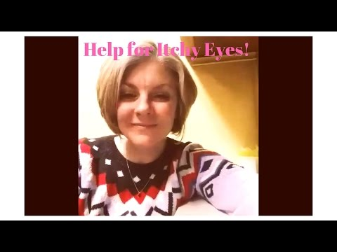 Essential oil help for itchy eyes