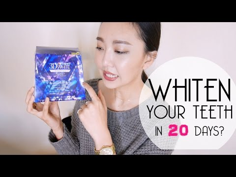 實測紀錄crest 3d white whitestrips professional effects : DAY 1