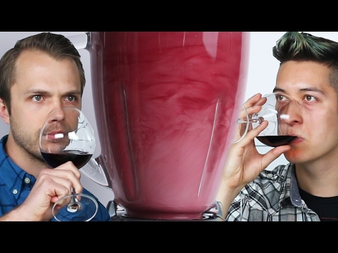 Does Blending Cheap Wine Make It Taste Better?