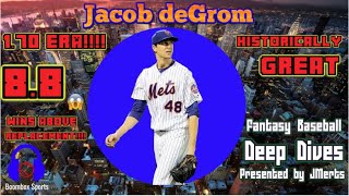 Jacob deGrom's 2018 season is one of the greatest, ever - Fantasy Baseball Deep Dives