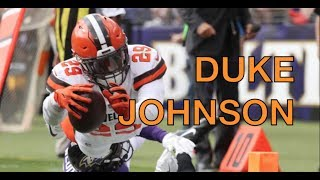 "Duke Johnson │""Most Underrated Player in the NFL""│Cleveland Browns 2017 Ultimate Highlights - HD"