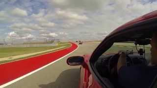 Taking a Parade lap at Cota with a little spirit