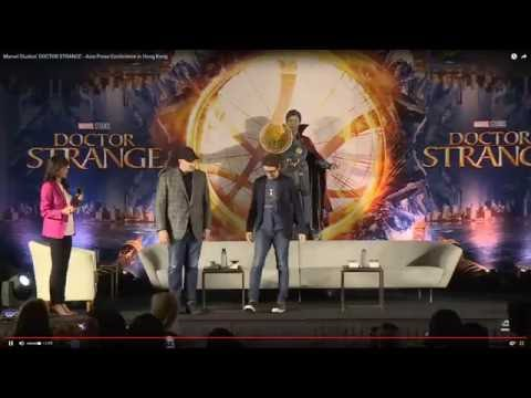 BENEDICT CUMBERBATCH - DOCTOR STRANGE - Asia Press Conference in Hong Kong