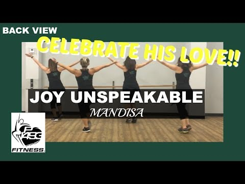 CLASS PRESENTATION VIEW || JOY UNSPEAKABLE || MANDISA || P1493 FITNESS®