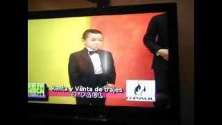 Hector y José Francisco en TV en Megacanal