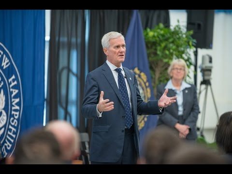 UNH President and Provost Open Forum - Fall 2016